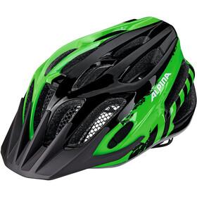 Alpina FB Jr. 2.0 Kask rowerowy Dzieci zielony/czarny
